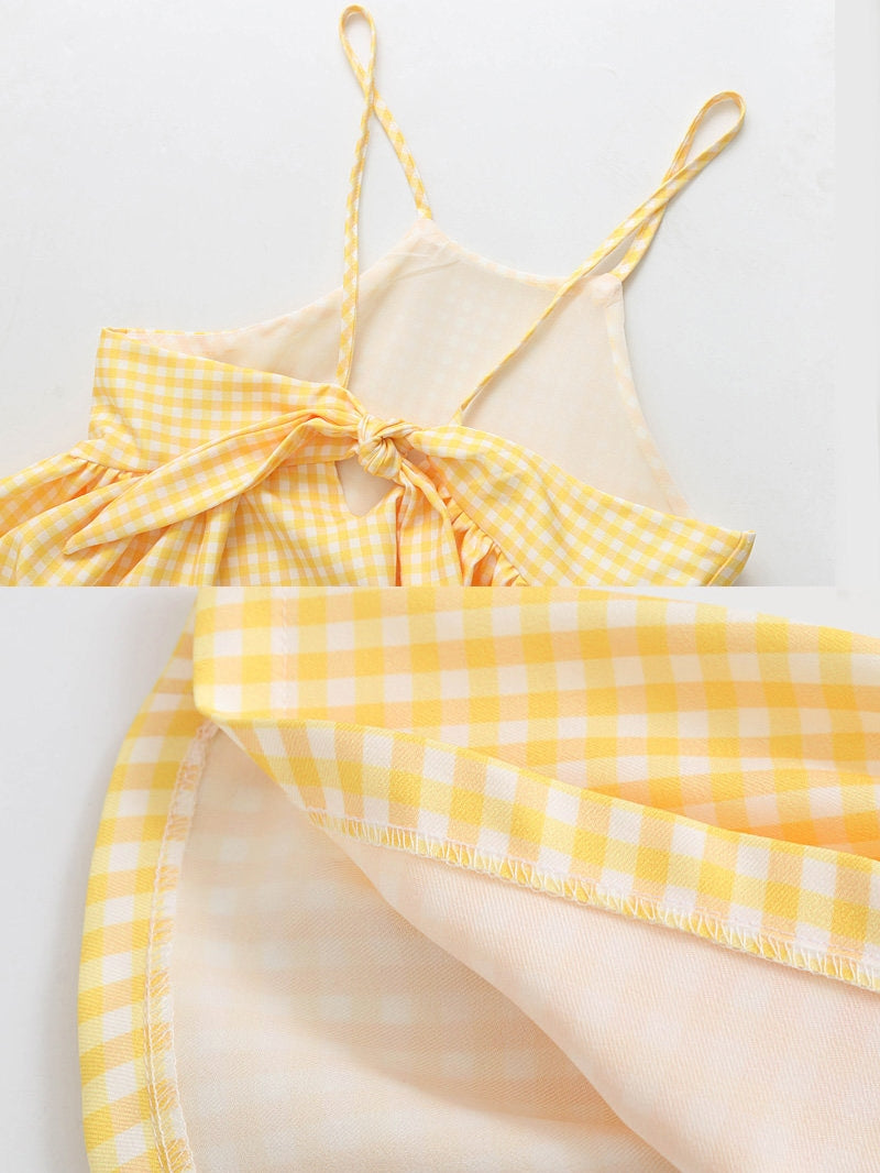 Preppy yellow top (ready stock in L)