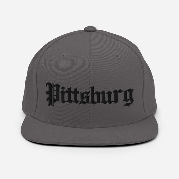 Pittsburg Ca. Old English Snapback