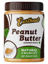 Load image into Gallery viewer, Earthnut Natural Peanut Butter Crunchy