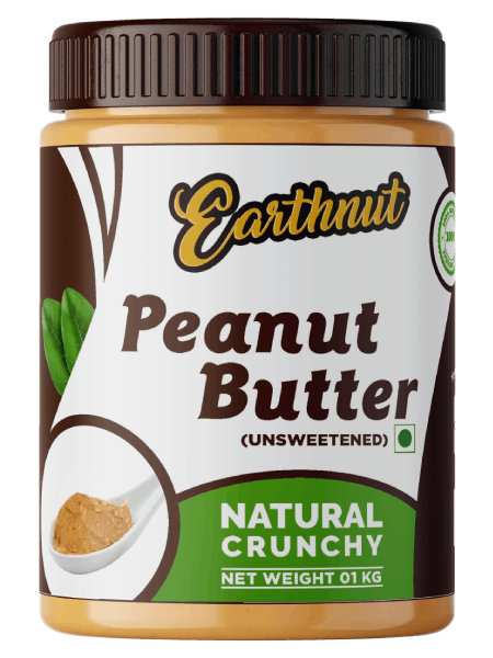 Earthnut Natural Peanut Butter Crunchy