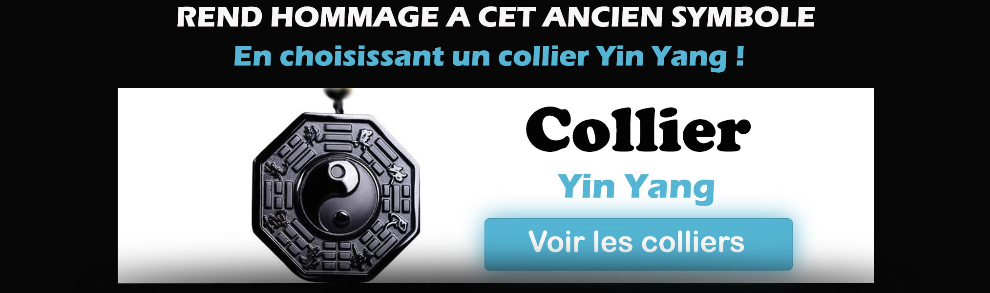 Collection collier yin yang