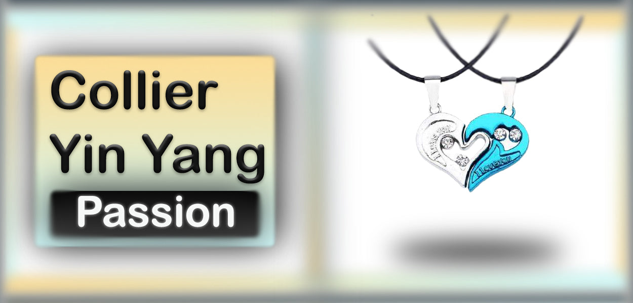 Collier Yin Yang Passion