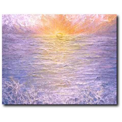 Awakening Premium Canvas Gallery Wrap Print 11 by 14 Inches