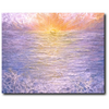 Awakening Premium Canvas Gallery Wrap Print 11 by 14 Inches - BA Wygant Studio | Abstract Spiritual Contemporary Art