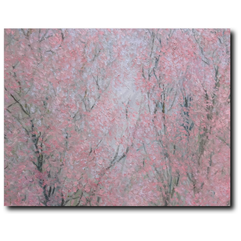 Harmony Premium Canvas Gallery Wrap Print 11 by 14 Inches - BA Wygant Studio | Abstract Spiritual Contemporary Art