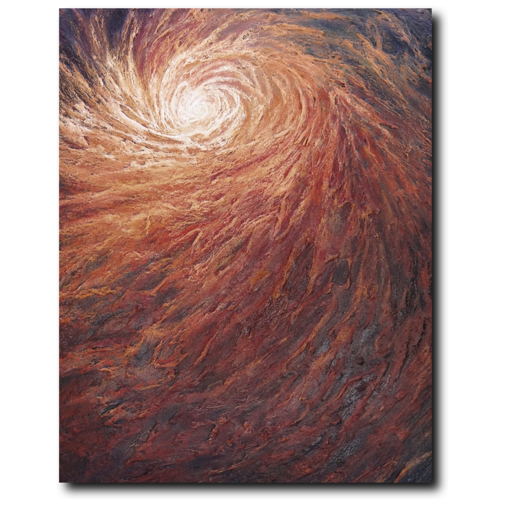 The Passenger Premium Canvas Gallery Wrap Print 11 By 14 Inches - BA Wygant Studio | Abstract Spiritual Contemporary Art