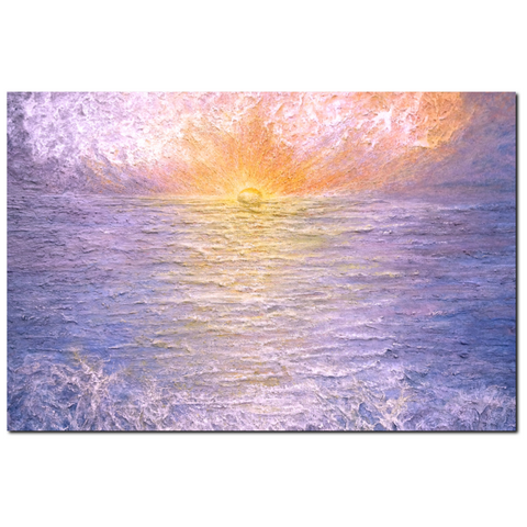 Awakening Premium Canvas Gallery Wrap Print 32 by 48 Inches