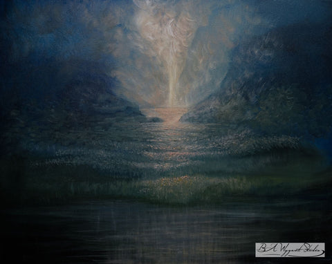 The First Light | Original Oil Painting