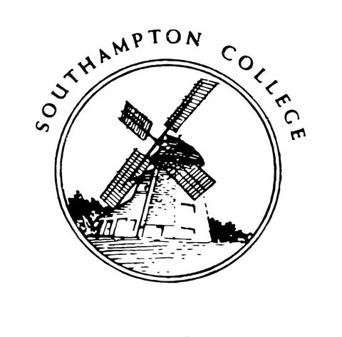 Southampton College T-Shirt 2 Sided Black on White Tee