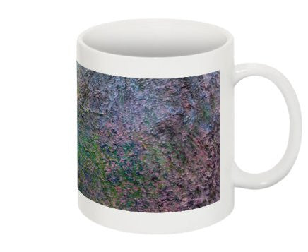 "Mug Featuring the Rainbow of Flowers in ""Spring Symphony"" by BA Wygant - BA Wygant Studio 