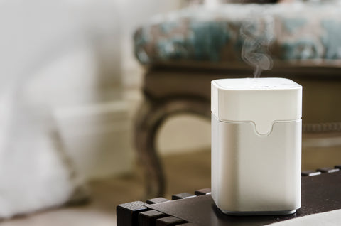 Humidifier on table