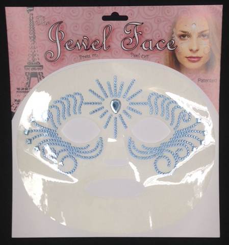 JewelFace Crystal Blue #8004