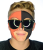 Orange/Black FanMask #9035