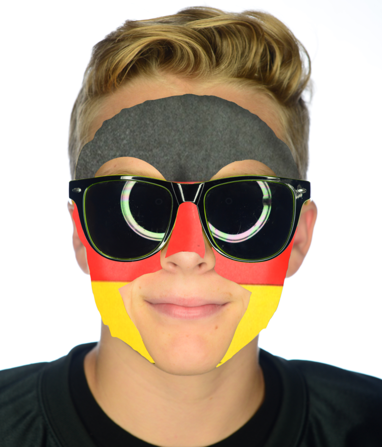 #9202 Germany Game Day Face