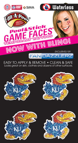 Kansas University Jayhawks 0921 - 4 Dazzlerz