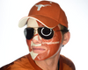 University of Texas-Full Face Tattoo