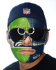 Seattle Seahawks-Full Face Tattoo