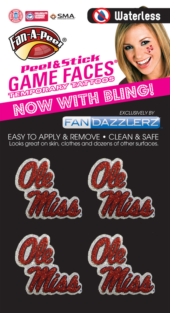 Ole Miss Rebels - 4 Dazzlerz
