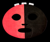 Red/Black FanMask #9038