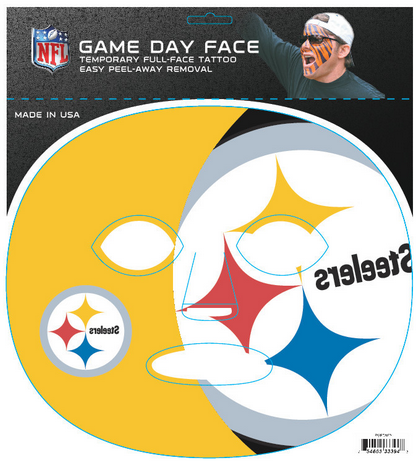 Pittsburgh Steelers 3394 - Full Face Tattoo