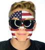 #9200 USA Game Day Face - Full Face Sticker