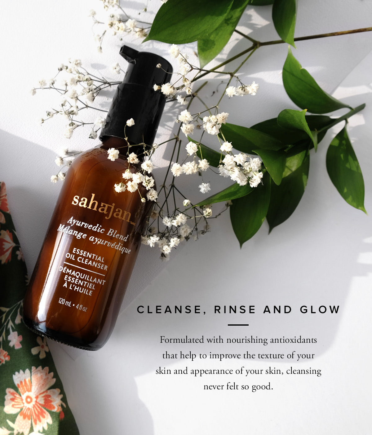 Cleanse, Rinse and Glow  Formulated with nourishing antioxidants that help to improve the texture and appearance of your skin, cleansing never felt so good.