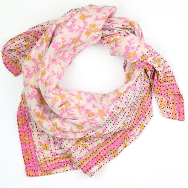 Handcrafted Printed Scarf
