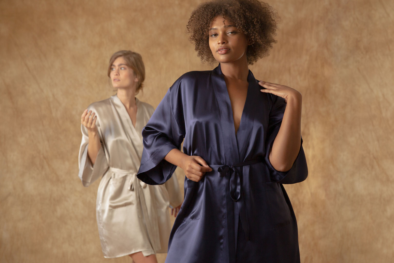 Zero Waste Silk Robe