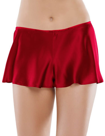 Red silk Tap Pants - Odessa Eye-Candy Tap Pant in Scarlet