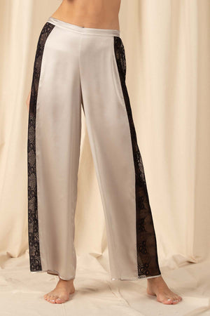 Mischa Lace Trousers Lounge Trouser NK iMODE winter-fog grey S