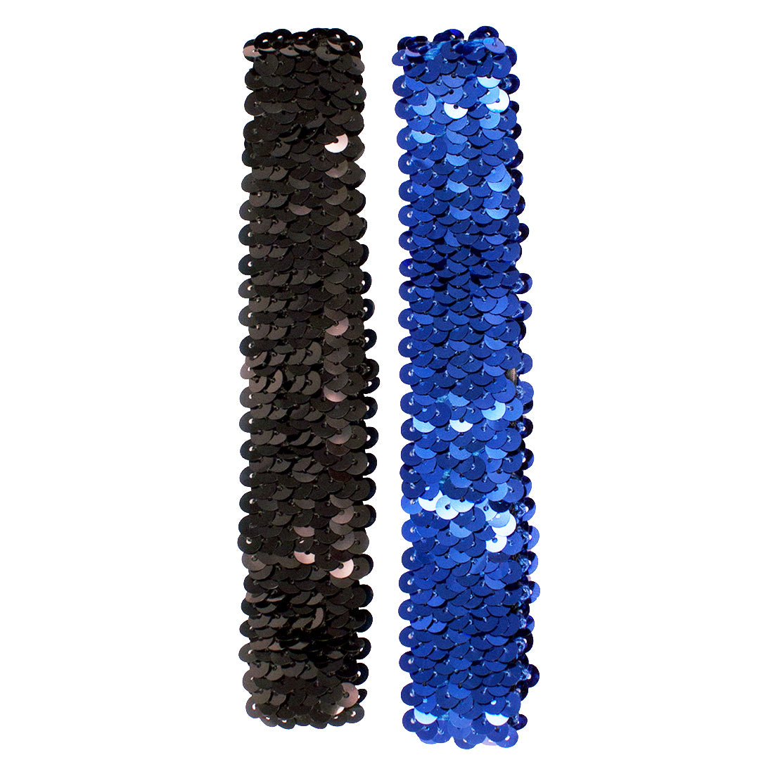 Mia® Spirit Sequin Headbands - black and royal blue color - by #MiaKaminski of Mia Beauty