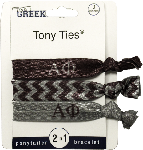 Tony Ties® - Alpha Phi - Pack Of Three (3)