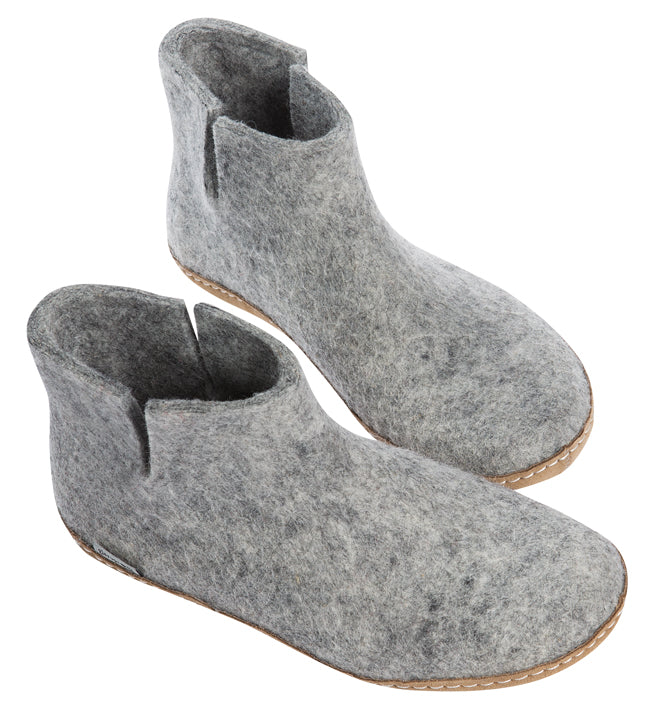 Indoor Boot - Grey