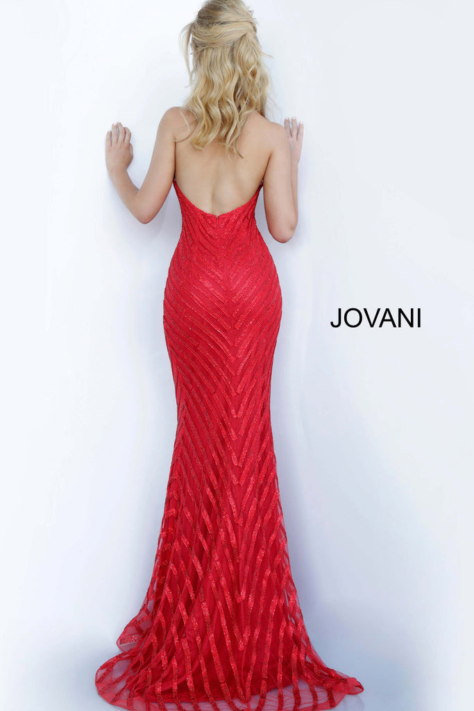 Jovani 00399 low back prom dress