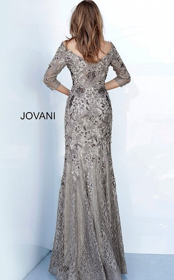 Jovani 02766 long mother of the bride dress