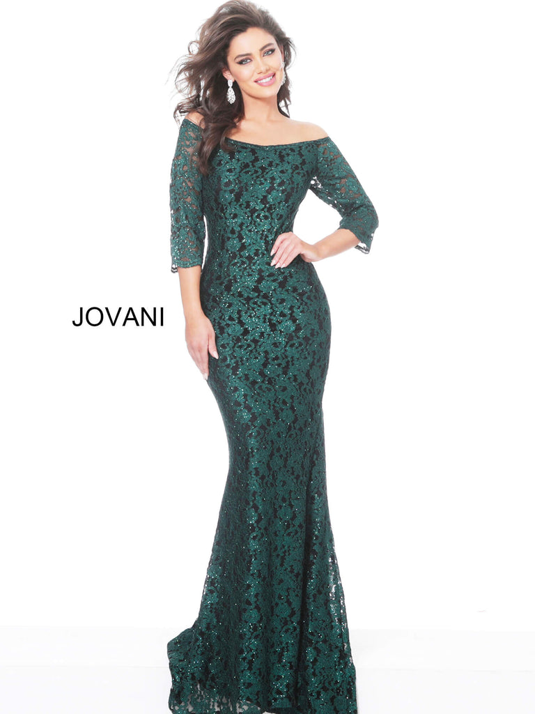 Jovani 03349 long mother of the bride dress