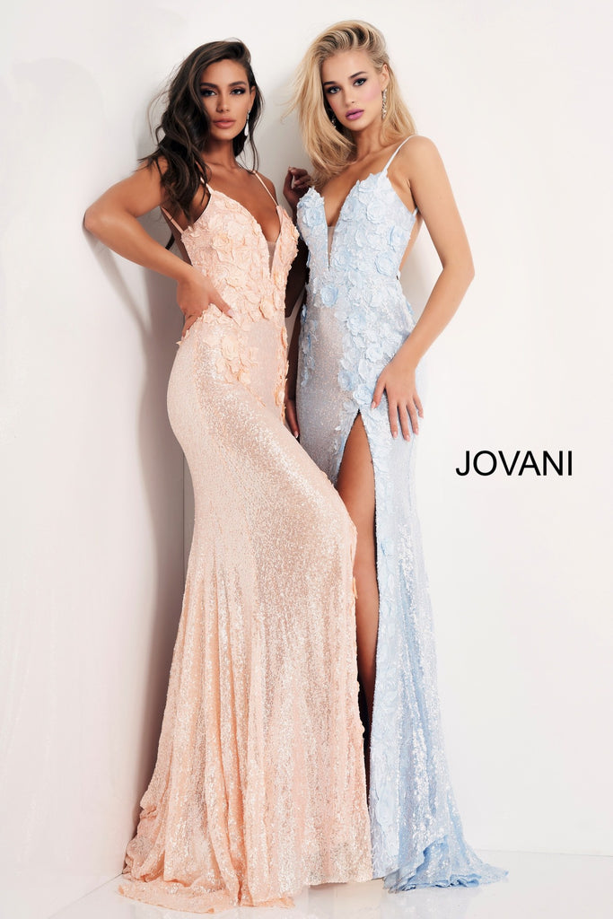 Jovani 1012 light blue