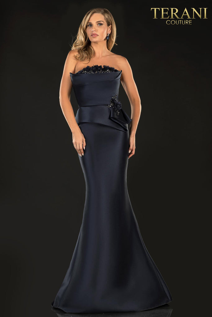 Terani 2021E2832 Long formal dress