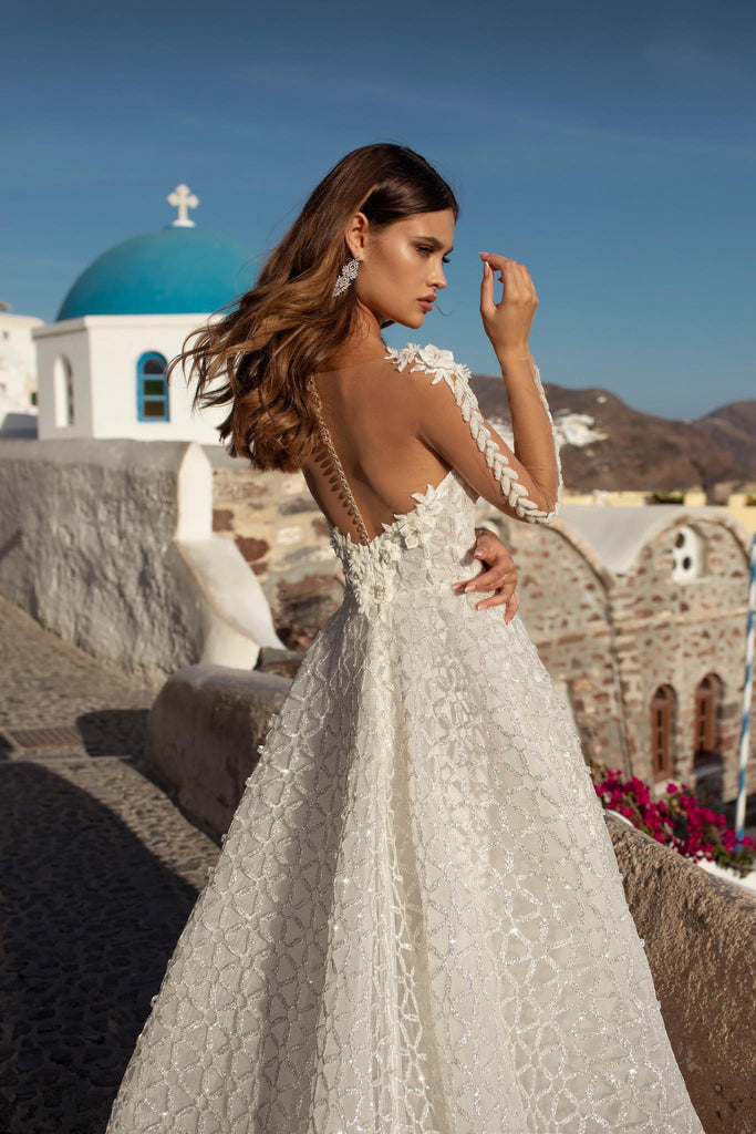Ricca Sposa 21008 sweetheart glitter bridal gown