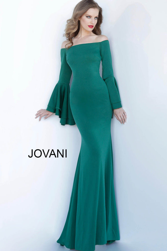 Jovani 3029 long sleeve dress