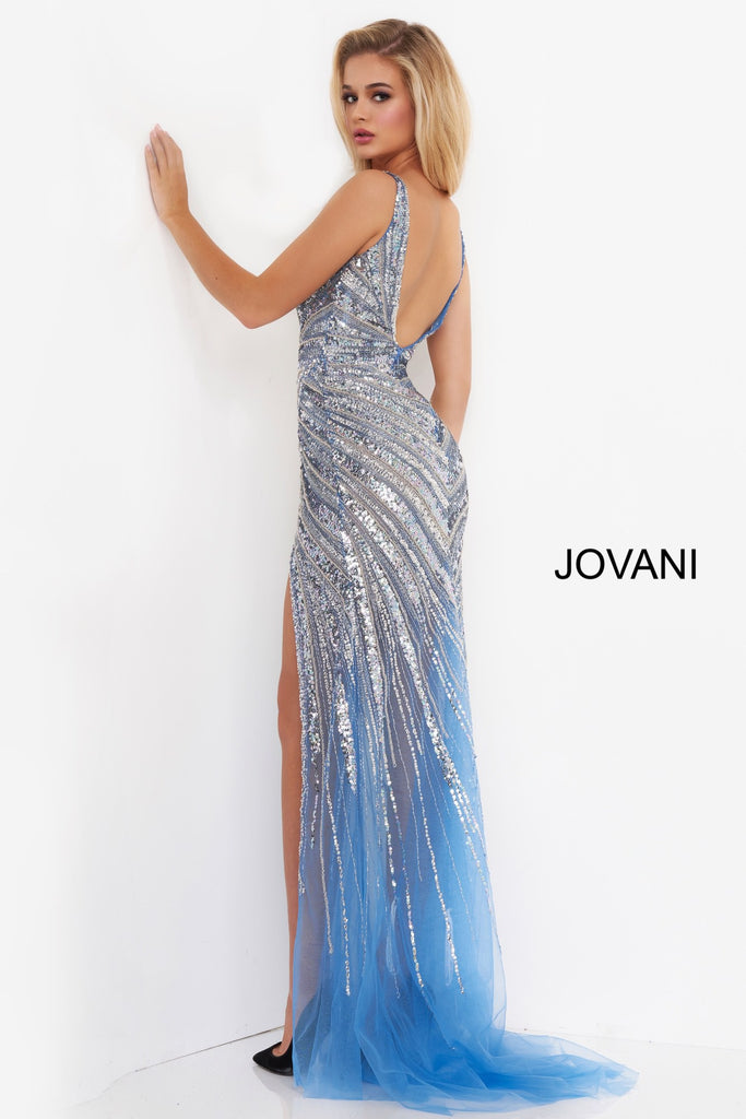 Jovani 3686 beaded long evening dress