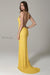 scala 47551 banana yellow prom dress