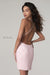 blush pink low back prom dress