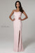 scala 60100 pink sequins prom dress