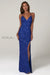 Scala 60116 royal blue sequins prom dress