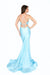 6533h lace up back prom dress