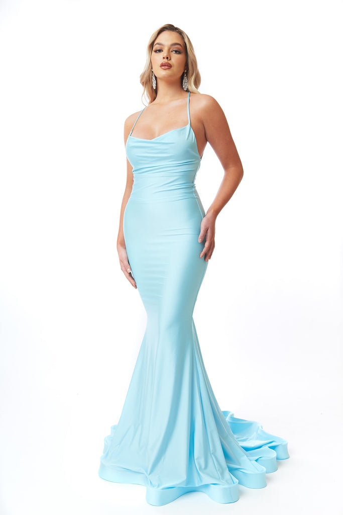 atria 6557 light blue prom dress