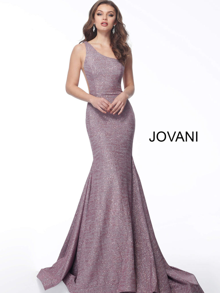 Jovani 67650 one shoulder prom dress