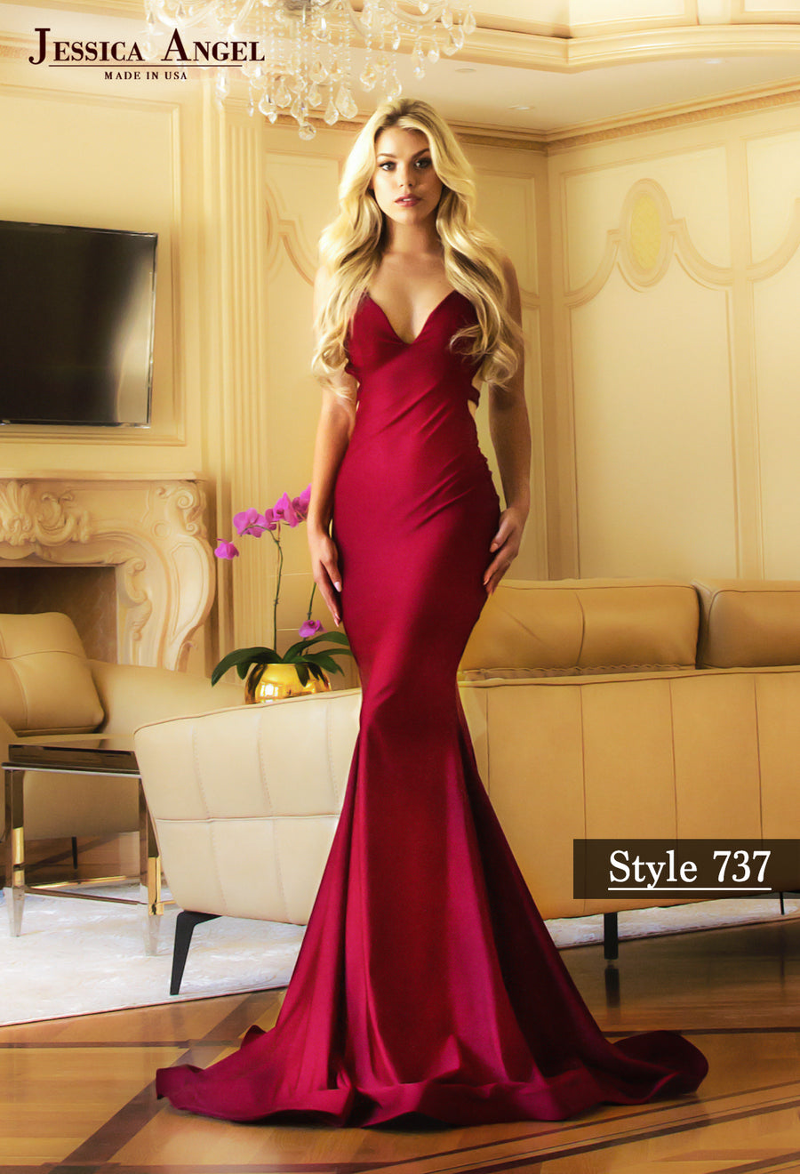 aa7b53fe4b6e Jessica Angel bridesmaids and prom dresses at Mia Bella Couture