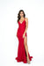 atria 6308h red prom dress with low back